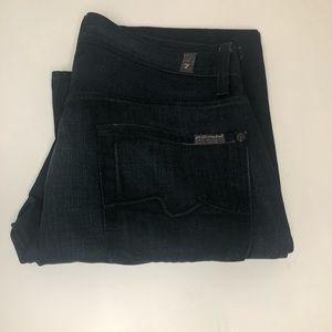 7 For All Mankind Jeans - Men's dark wash (Sz 30)